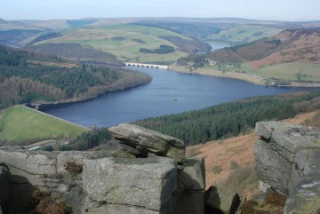 Ladybower reservoir near Bamford