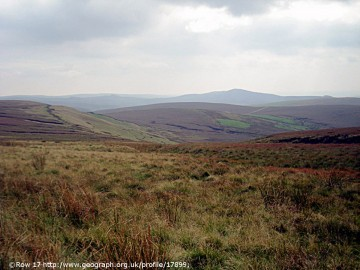 Moorland of the High Peak
