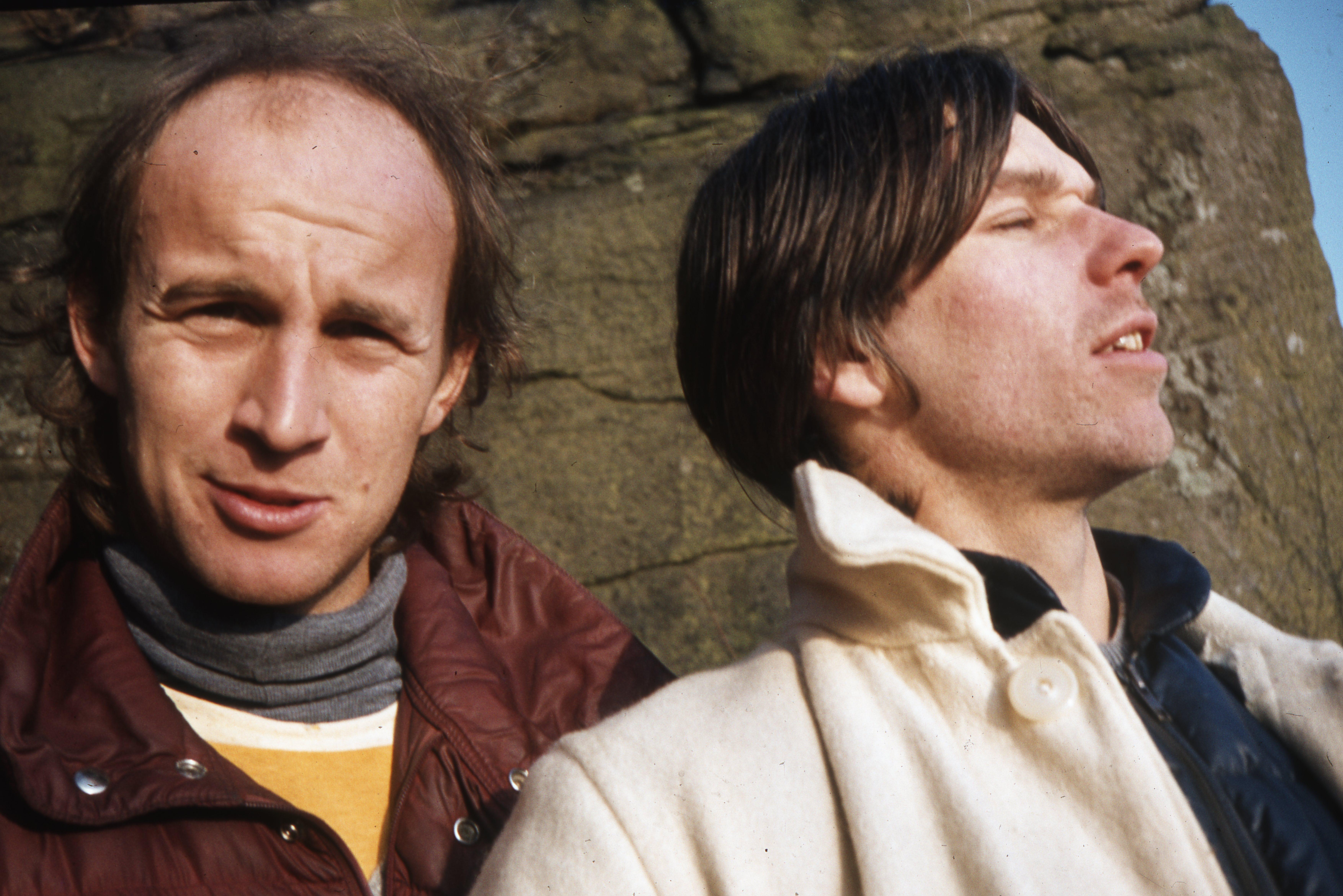 John Allen (left) and Mark Stokes.