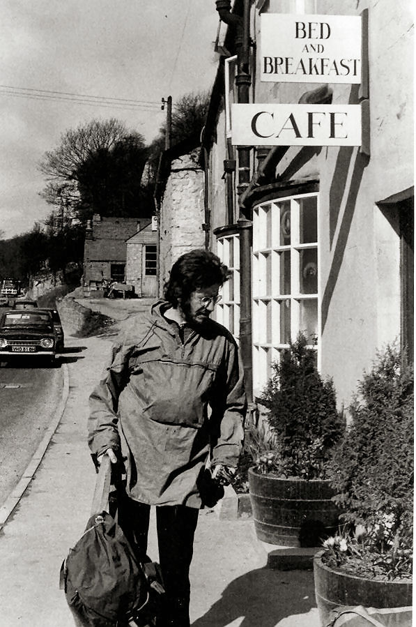 Ben Campbell-Kelly, a visitor from the South-West. (Brian Cropper)