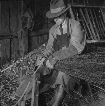 Besom Broom Making