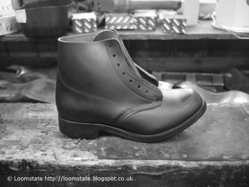 Boot making at William Lennons