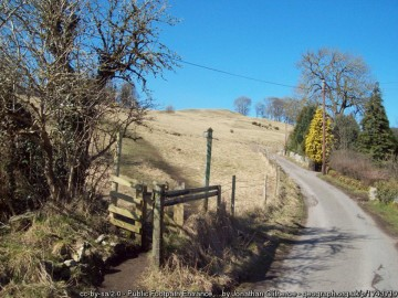 Track to Eyam from Stoney Middleton