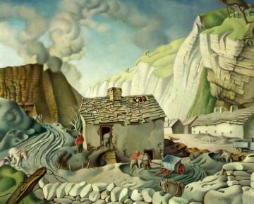 Burning Limestone 1954
