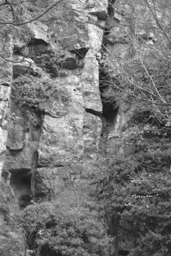 Mineshaft originally called 'Stoney Middleton Climb'