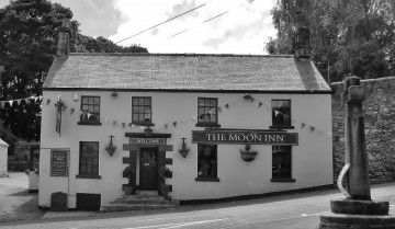 The Moon Inn pub Stoney Middleton