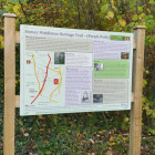 Village trail boards